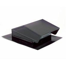 Roof Cap in Black; Ventilation Fans