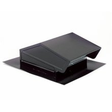 Roof Cap in Black; Ventilation Fans