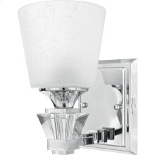 Deluxe Vanity Light in Polished Chrome