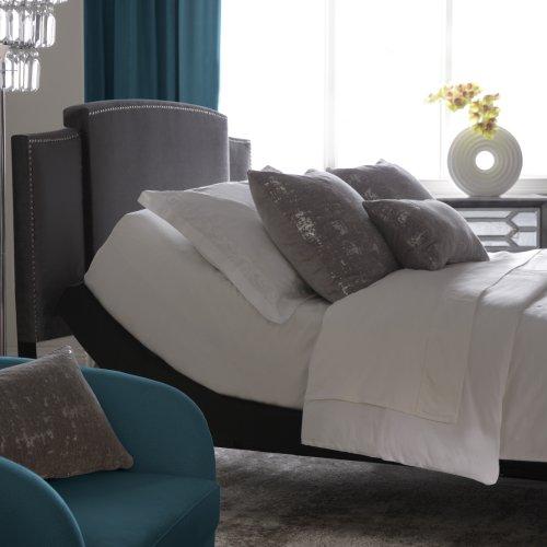 Prodigy Comfort Elite Adjustable Bed Base with Lumbar Support, Black Finish, Split King