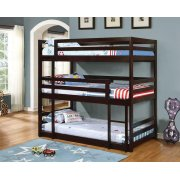Sandler Cappuccino Three-bed Bunk Bed Product Image