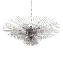 Urchin Chandelier In Nickel