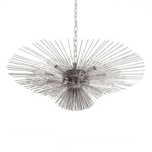 Urchin Chandelier In Nickel