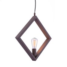 Rotorura Ceiling Lamp Rust