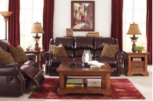 Walworth - Blackcherry 6 Piece Living Room Set