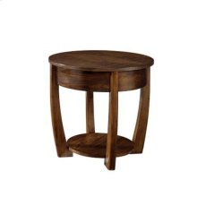 Concierge Round End Table