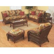 S-518 Fruitwood Wicker/Rattan