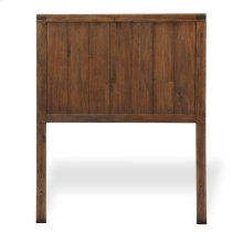Porter Kids Wood Headboard with Natural Knotting and Patina, Brushed Walnut Finish, Twin