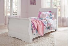 RED HOT BUY - BE HAPPY ! Twin Sleigh Footboard