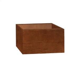 "Rebecca 18"" Wall Mount Bathroom Vanity Base Cabinet in Cinnamon Product Image"