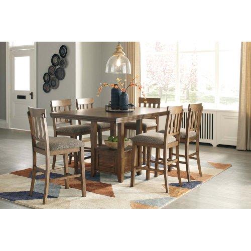 Ralene - Medium White 5 Piece Dining Room Set