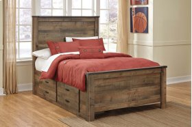 Trinell - Brown 4 Piece Bed Set (Full)