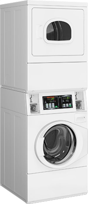 Stack Washer/Dryer Gas Coin-Operated