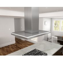 Luce Island, 42in, SS, 600 CFM, ACT