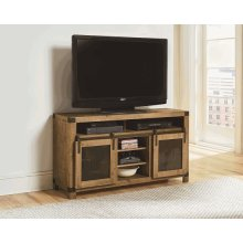54 Inch Console - Driftwood Finish