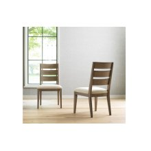 High Line by Rachael Ray Ladder Back Side Chair