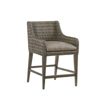 Turner Woven Counter Stool