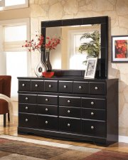 Shay - Almost Black 2 Piece Bedroom Set Product Image