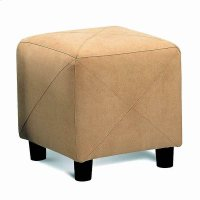 Casual Taupe Ottoman Product Image