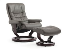 Stressless Nordic Medium Classic Base Chair and Ottoman