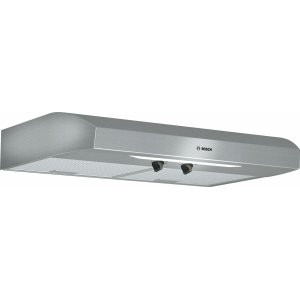 "BOSCH300 Series, 30"" Under-cabinet Hood, 280 CFM, Incandescent lights, Stnls"