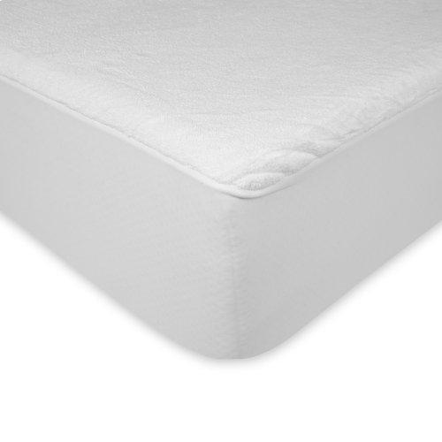 Sleep Plush Mattress Protector Bed Sheet with Ultra-Soft and Waterproof Fabric, California King