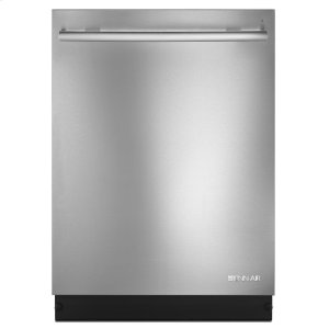 "Jenn-AirEuro-Style 24"" Built-In TriFecta Dishwasher, 38dBA Stainless Steel"