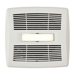 BroanFlex Series Single-Speed Bathroom Exhaust Fan With LED Light 110 CFM 1.0 Sones ENERGY STAR Certified