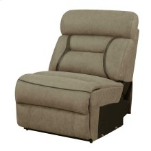 Camargue Tan Reclining Power Sectional