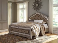 Birlanny - Silver 3 Piece Bed Set (Cal King)