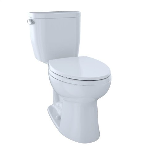 Entrada Close Coupled Elongated Toilet 1.28GPF - Cotton