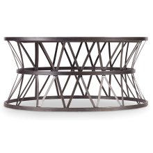 Living Room Chadwick Round Cocktail Table