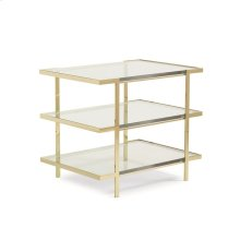 The Top to Bottom End Table