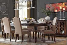 Baxenburg - Brown 6 Piece Dining Room Set