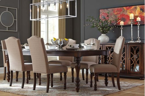 Baxenburg - Brown 5 Piece Dining Room Set