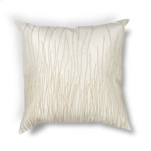 "L188 Ivory Simplicity Pillow 18"" X 18"""