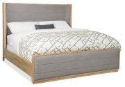 Bedroom Urban Elevation Queen Upholstered Shelter Bed Product Image