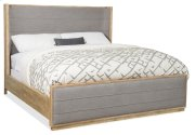 Bedroom Urban Elevation Queen Upholstered Shelter Bed Product Image