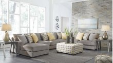 Fallsworth - Smoke 5 Piece Sectional