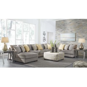 Ashley Furniture Fallsworth - Smoke 5 Piece Sectional