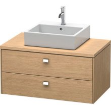 Brioso Vanity Unit For Console, European Oak (decor)