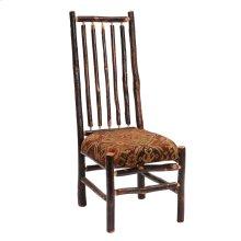 Hickory High Back Spoke Back Side Chair - Standard Fabric