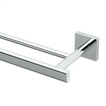 Elevate Double Towel Bar in Chrome