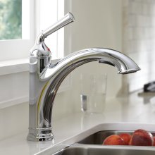 Portsmouth 1-Handle Pull Out Kitchen Faucet  American Standard - Polished Chrome