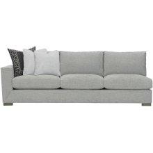 Nicolette Left Arm Sofa in Mocha (751)