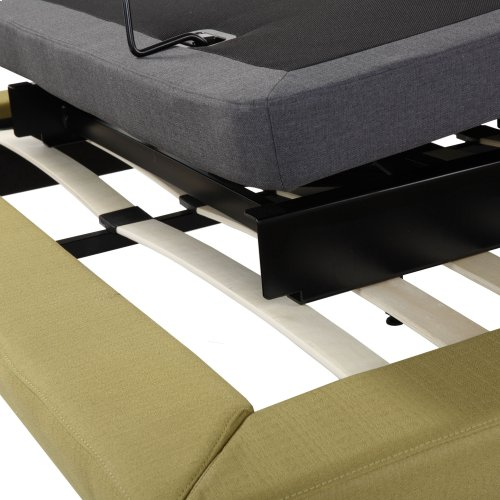 Symmetry ZERO Clearance Adjustable Bed Base with Head and Foot Articulation, Twin XL