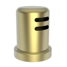 Satin Brass - PVD Air Gap Cap