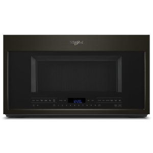 Whirlpool2.1 cu. ft. Over-the-Range Microwave with Steam cooking Black Stainless
