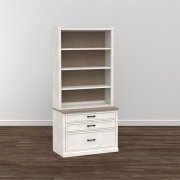 """Bella 40"""" Library Bookcase Product Image"""