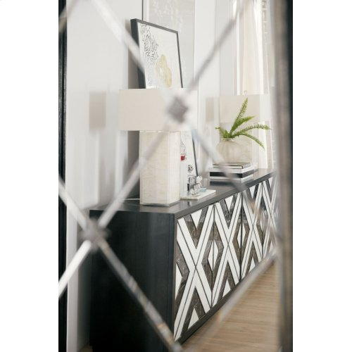 Home Entertainment Sanctuary Grand Noir Et Blanc Entertainment Console